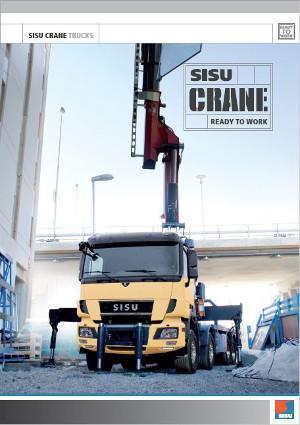 Sisu Polar eV Crane Trucks