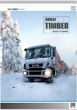 Sisu Polar ev Timber trucks