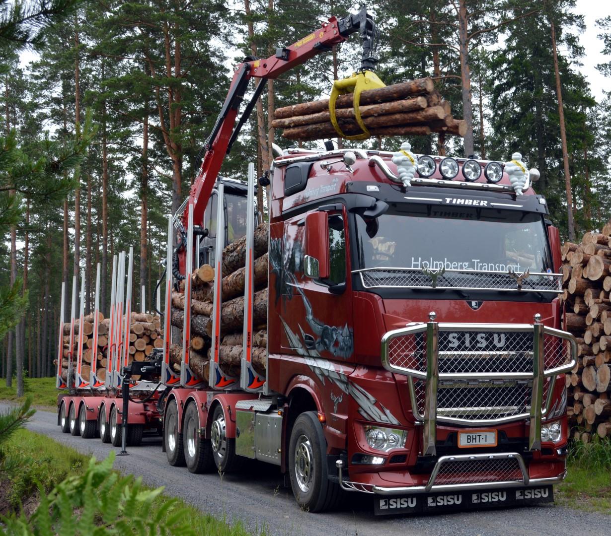 Sisu Polar Timber, Br. Holmberg Transport Ab